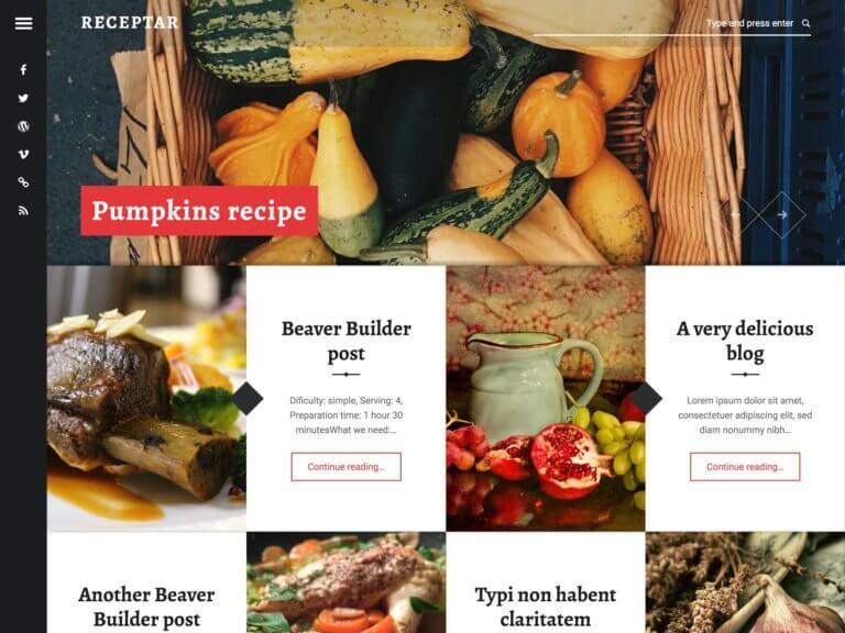 6 Best Free Food Blog WordPress Themes 2020