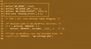 Inspect Custom PHP Code