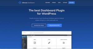 Ultimate Dashboard wordpress admin theme