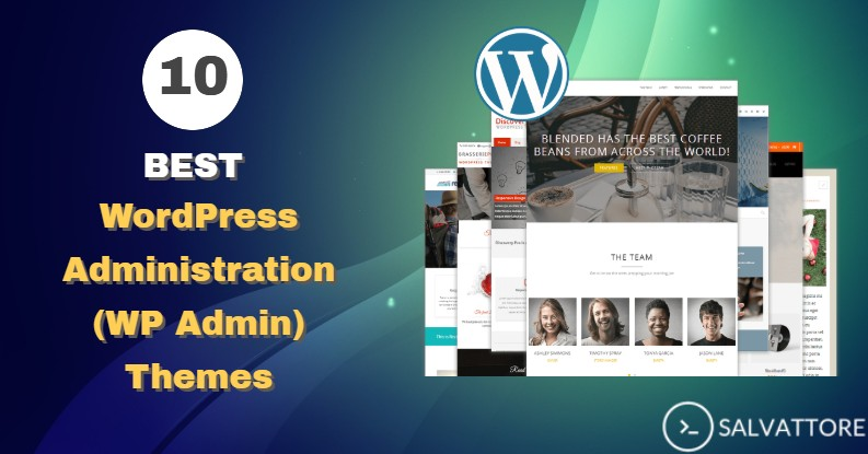 WordPress administration theme