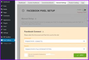 Add Facebook Pixels in wordpress using plugin