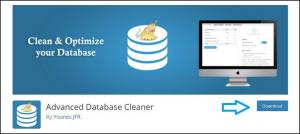 Advance WordPress database cleaner