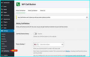 Plugin To Create a Clickable Phone Number Link