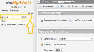 change wordpress password by phpmyadmin