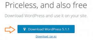 download wordpress on xampp