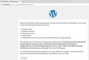 install wordpress on xampp server