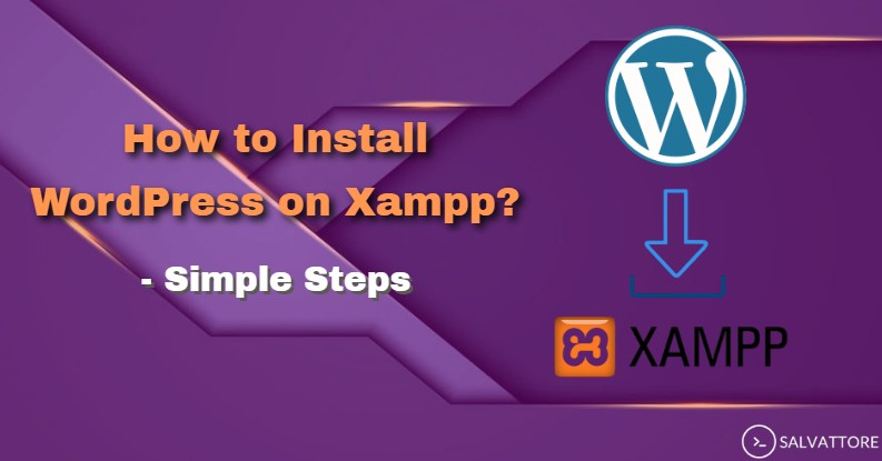 install wordpress on xampp