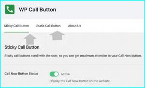 static call button wordpress