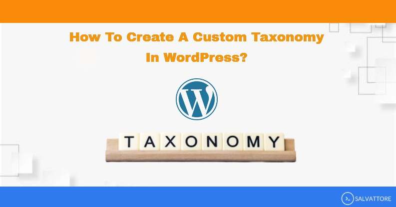 wordpress custom taxonomy