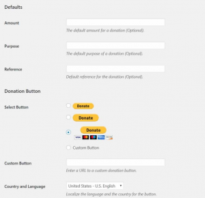 paypal donate button wordpress