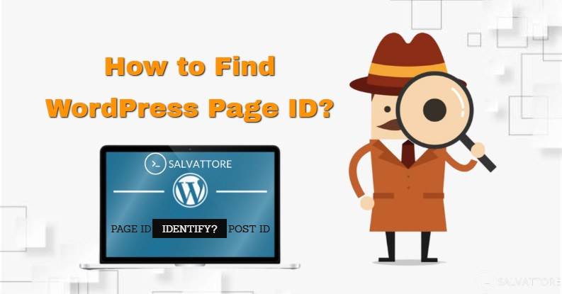 find Page ID and post id